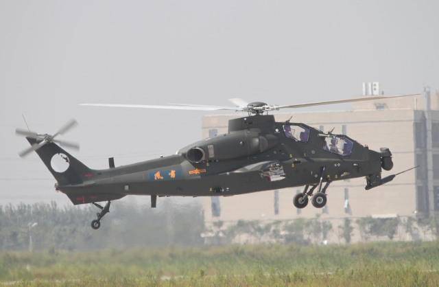素快戦士さんが、TJHPで撮影した某国陸軍 風雷飛行隊 WZ-10の航空フォト(飛行機 写真・画像)