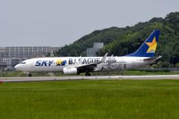 kopさんが、福岡空港で撮影したスカイマーク 737-86Nの航空フォト(飛行機 写真・画像)