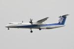 turenoアカクロさんが、伊丹空港で撮影したANAウイングス DHC-8-402Q Dash 8の航空フォト(飛行機 写真・画像)