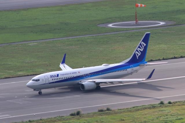 Hiro-hiroさんが、新石垣空港で撮影した全日空 737-881の航空フォト(飛行機 写真・画像)