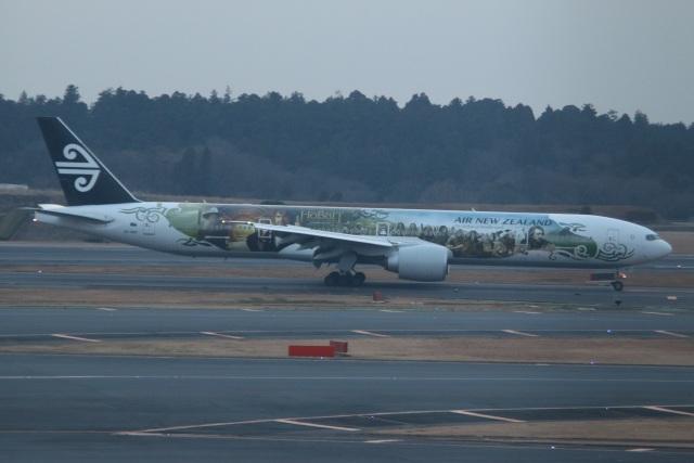 kahluamilkさんが、成田国際空港で撮影したニュージーランド航空 777-319/ERの航空フォト(飛行機 写真・画像)