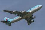 mameshibaさんが、成田国際空港で撮影した大韓航空 747-4B5の航空フォト(飛行機 写真・画像)