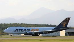 にしやんさんが、新千歳空港で撮影したアトラス航空 747-2D7B(SF)の航空フォト(飛行機 写真・画像)