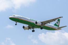 mameshibaさんが、成田国際空港で撮影したエバー航空 A321-211の航空フォト(飛行機 写真・画像)