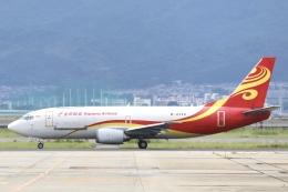 Hii82さんが、関西国際空港で撮影した金鵬航空 737-36N(SF)の航空フォト(飛行機 写真・画像)