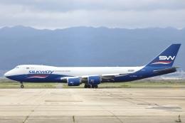 Hii82さんが、関西国際空港で撮影したシルクウェイ・ウェスト・エアラインズ 747-83QFの航空フォト(飛行機 写真・画像)