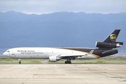 Hii82さんが、関西国際空港で撮影したUPS航空 MD-11の航空フォト(飛行機 写真・画像)