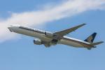 mameshibaさんが、成田国際空港で撮影したシンガポール航空 777-312の航空フォト(飛行機 写真・画像)