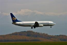 にしやんさんが、旭川空港で撮影したマンダリン航空 737-809の航空フォト(飛行機 写真・画像)