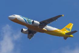 mameshibaさんが、成田国際空港で撮影したセブパシフィック航空 A320-214の航空フォト(飛行機 写真・画像)