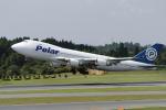 senyoさんが、成田国際空港で撮影したポーラーエアカーゴ 747-46NF/SCDの航空フォト(飛行機 写真・画像)