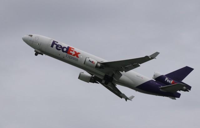 anagumaさんが、岩国空港で撮影したフェデックス・エクスプレス MD-11Fの航空フォト(飛行機 写真・画像)