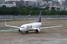 Yusuke✈︎さんが、福岡空港で撮影したスカイマーク 737-81Dの航空フォト(飛行機 写真・画像)