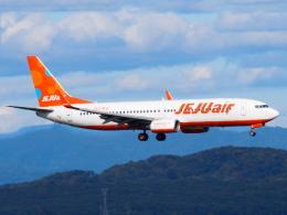 むらさめさんが、新千歳空港で撮影したチェジュ航空 737-8ASの航空フォト(飛行機 写真・画像)