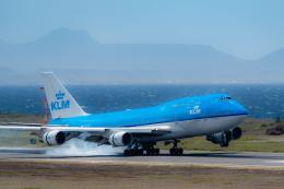 doublemさんが、ハト国際空港で撮影したKLMオランダ航空 747-406の航空フォト(飛行機 写真・画像)