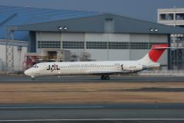 kahluamilkさんが、伊丹空港で撮影した日本航空 MD-87 (DC-9-87)の航空フォト(飛行機 写真・画像)