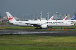 TIA spotterさんが、羽田空港で撮影した日本航空 777-346/ERの航空フォト(飛行機 写真・画像)