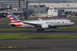 TIA spotterさんが、羽田空港で撮影したアメリカン航空 787-8 Dreamlinerの航空フォト(飛行機 写真・画像)