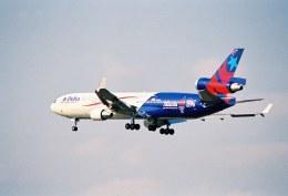 かぐさんが、成田国際空港で撮影したデルタ航空 MD-11の航空フォト(飛行機 写真・画像)