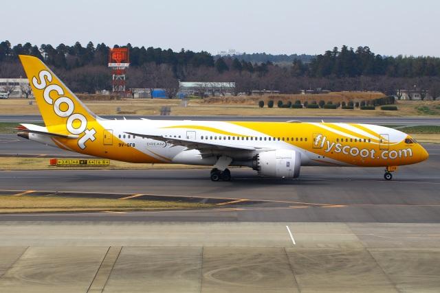 Tomo_mczさんが、成田国際空港で撮影したスクート 787-8 Dreamlinerの航空フォト(飛行機 写真・画像)