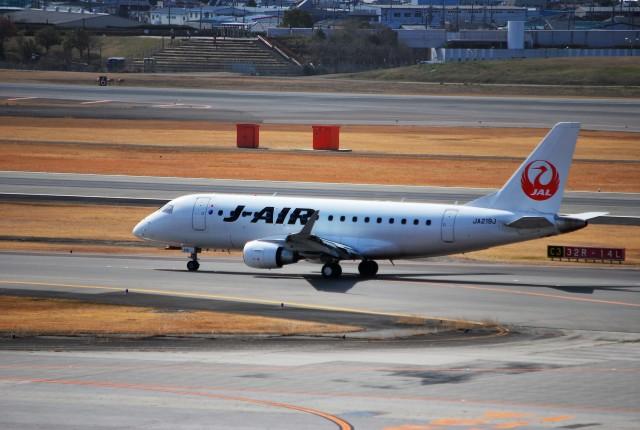 リュウキさんが、伊丹空港で撮影したジェイ・エア ERJ-170-100 (ERJ-170STD)の航空フォト(飛行機 写真・画像)