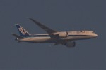BOEING737MAX-8さんが、自宅から撮影で撮影した全日空 787-8 Dreamlinerの航空フォト(飛行機 写真・画像)