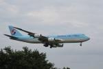 飛行機ゆうちゃんさんが、成田国際空港で撮影した大韓航空 747-8B5F/SCDの航空フォト(飛行機 写真・画像)