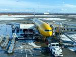ぐっちーさんが、新千歳空港で撮影した全日空 777-281/ERの航空フォト(飛行機 写真・画像)