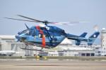 とびたさんが、名古屋飛行場で撮影した愛知県警察 BK117C-1の航空フォト(飛行機 写真・画像)