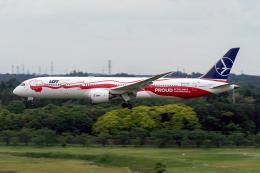 K.Sさんが、成田国際空港で撮影したLOTポーランド航空 787-9の航空フォト(飛行機 写真・画像)