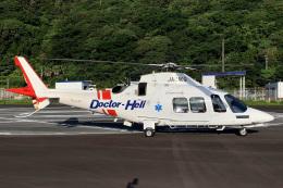 MOR1(新アカウント)さんが、日本で撮影した鹿児島国際航空 AW109SP GrandNewの航空フォト(飛行機 写真・画像)
