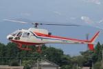 MOR1(新アカウント)さんが、鹿児島空港で撮影した西日本空輸 AS350BA Ecureuilの航空フォト(飛行機 写真・画像)