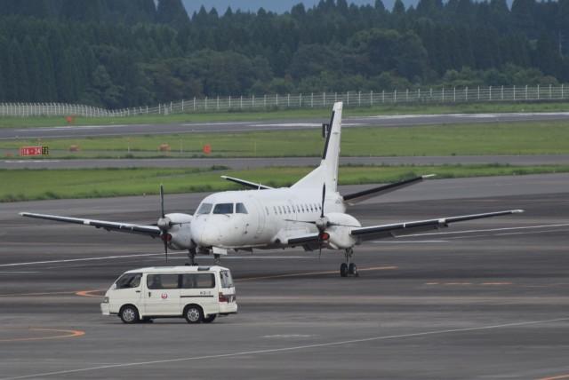 ぬま_FJHさんが、鹿児島空港で撮影した日本エアコミューター 340Bの航空フォト(飛行機 写真・画像)