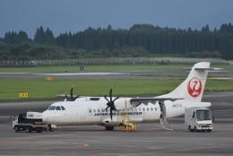 ぬま_FJHさんが、鹿児島空港で撮影した日本エアコミューター ATR-42-600の航空フォト(飛行機 写真・画像)