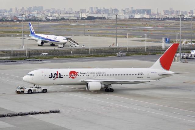 flying_horseさんが、羽田空港で撮影した日本航空 767-346/ERの航空フォト(飛行機 写真・画像)