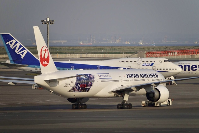 flying_horseさんが、羽田空港で撮影した日本航空 777-346/ERの航空フォト(飛行機 写真・画像)