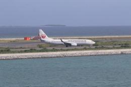 airdrugさんが、那覇空港で撮影した日本トランスオーシャン航空 737-8Q3の航空フォト(飛行機 写真・画像)