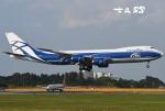 tassさんが、成田国際空港で撮影したエアブリッジ・カーゴ・エアラインズ 747-8Fの航空フォト(飛行機 写真・画像)