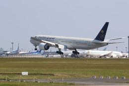 airdrugさんが、成田国際空港で撮影したサウディア 777-3FG/ERの航空フォト(飛行機 写真・画像)