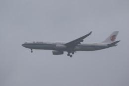 airdrugさんが、成田国際空港で撮影した中国国際航空 A330-343Xの航空フォト(飛行機 写真・画像)