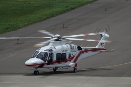 gomachanさんが、大館能代空港で撮影した東北エアサービス AW169の航空フォト(飛行機 写真・画像)