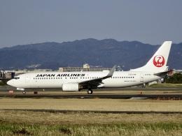 worldstarさんが、伊丹空港で撮影した日本航空 737-846の航空フォト(飛行機 写真・画像)