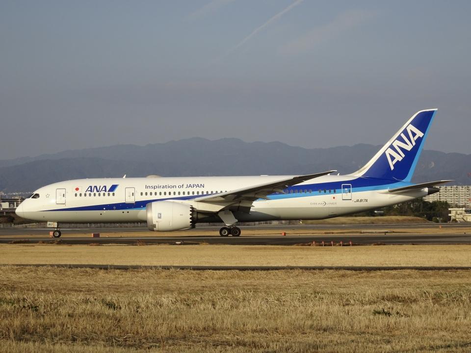 worldstarさんの全日空 Boeing 787-8 Dreamliner (JA817A) 航空フォト