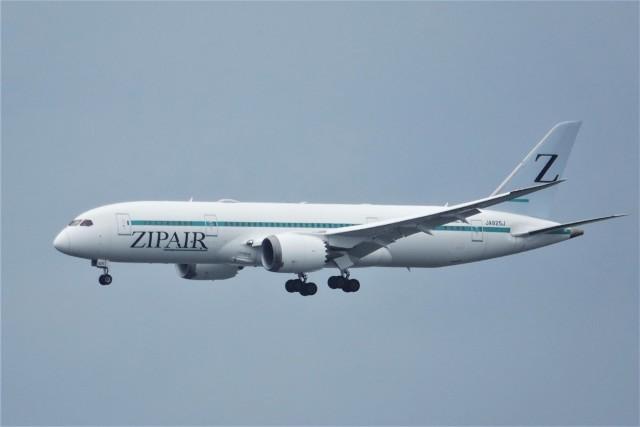 jutenLCFさんが、中部国際空港で撮影したZIPAIR 787-8 Dreamlinerの航空フォト(飛行機 写真・画像)