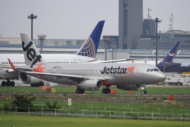 飛行機ゆうちゃんさんが、成田国際空港で撮影したジェットスター・ジャパン A320-232の航空フォト(飛行機 写真・画像)