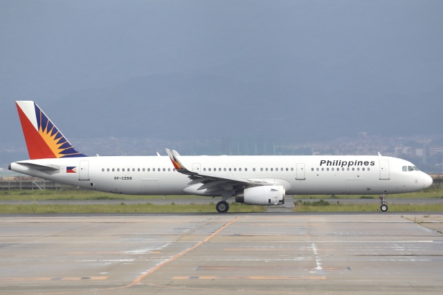 Hii82さんが、関西国際空港で撮影したフィリピン航空 A321-231の航空フォト(飛行機 写真・画像)