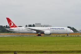 ポン太さんが、成田国際空港で撮影したターキッシュ・エアラインズ 787-9の航空フォト(飛行機 写真・画像)