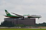 ポン太さんが、成田国際空港で撮影したエバー航空 787-9の航空フォト(飛行機 写真・画像)