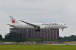 ポン太さんが、成田国際空港で撮影した日本航空 787-9の航空フォト(飛行機 写真・画像)
