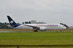 ポン太さんが、成田国際空港で撮影したアエロメヒコ航空 787-9の航空フォト(飛行機 写真・画像)